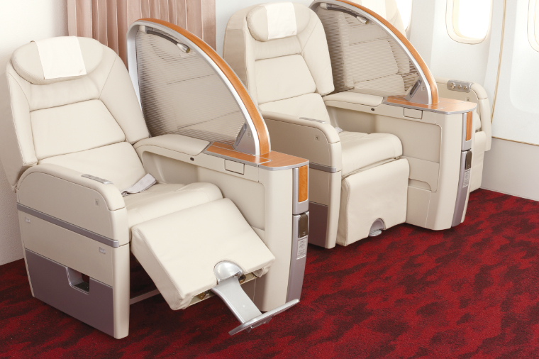 Interior Materials for Aircraft