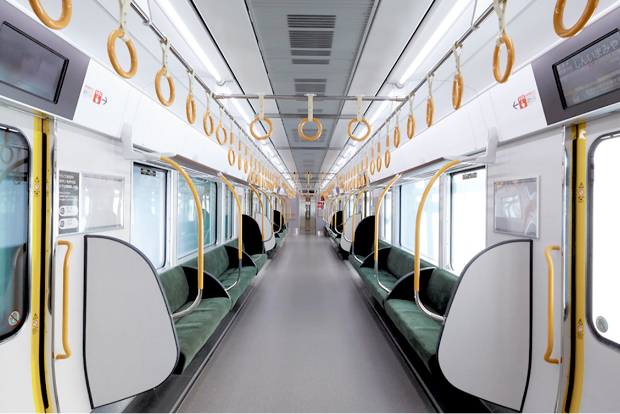 Interior Materials for Trains