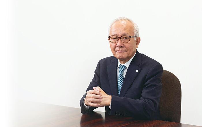 住江織物株式会社 代表取締役会長兼社長 吉川 一三